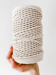 4mm 3ply Cotton Rope