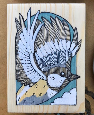 Bird Vinyl Sticker