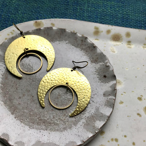 Lunar Crest Earrings