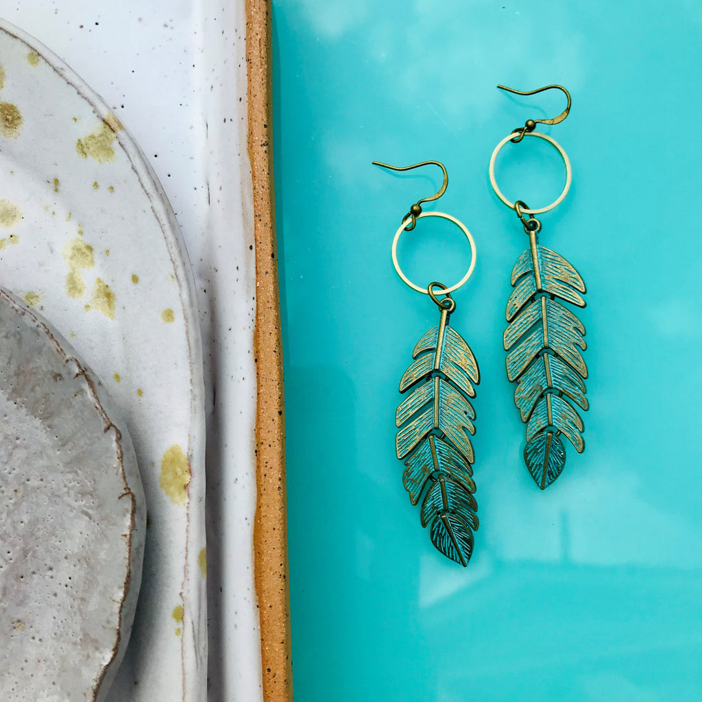 Feather Sway Earrings