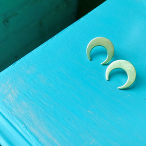 Lunar Post Earrings
