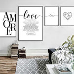 "Canvas ""Love"" Pictures"