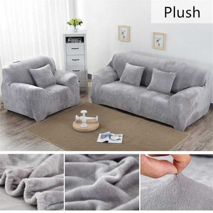 Plush Universal Sofa Cover