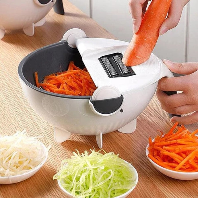 Rotate The Food Slicer