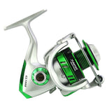 Full Metal Spinning Reel 5.5:1 Ratio, 10BB  8kg/17Lb Max Drag