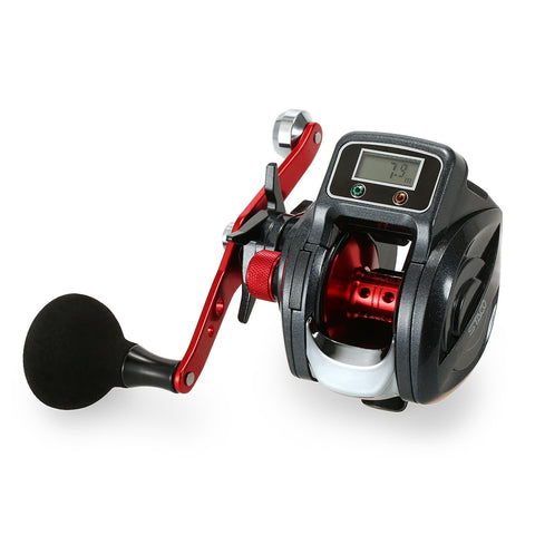 6.3:1 13+1BB Line Counter Digital Display Reel