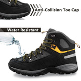 GRITION Mens Sneakers, Waterproof Hiking Shoes, Climbing, Hunting, Anti-skid