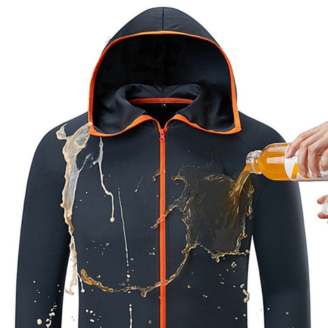 Hydrophobic Ice Hooded Waterproof Anti-Fouling Quick-Drying Jacket