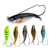 1Pcs VIB Fishing Lure 3 11/32 inch 3/4 oz. Weedless Wobbler