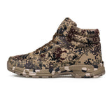 SAGACE High Top Shoes Sneakers Camouflage Low Boots