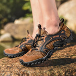 CHAMSGEND Hiking Shoes, Folding Sneakers, Quick-Drying