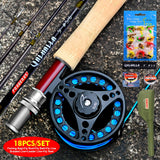 PRO BEROS Fly Fishing Combo Ready to Fish Kit 3/4 & 5/6