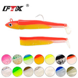 FTK Soft Minnow Bait Pre-Rigged Jig Head 5g/10g/12g/ 25g, Spare Heads and Bodies