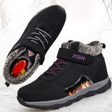 Plush Fashion Hiking Shoes, Sneakers