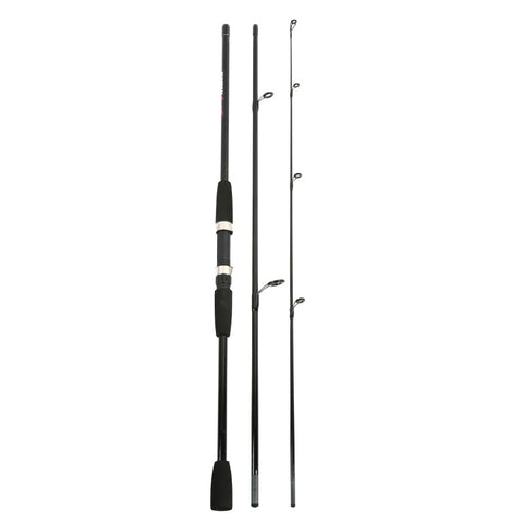 "5'10""/6'10"" Fiberglass Travel Spinning Rod, 3 pcs"