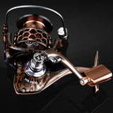 Spinning Reel, 17+1 BB, 5.2:1 Ratio, All Metal