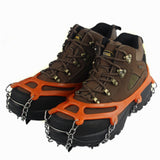 Manganese Steel Non-Slip Winter Ice Spikes, Cleats, Climbing