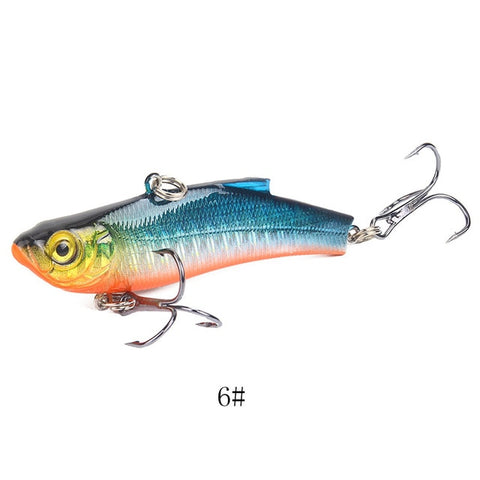 Lipless Crankbait Vibration Rattle Hard Minnow