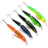 "Jointed Minnow Jerkbait Lure 9cm (3 1/2"")/9.6g (~1/3 oz.) 2-segment Hard Bait"