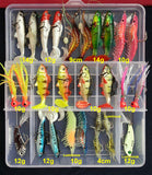 Hot New Multi Fishing Lure Kit w/Mixed Colors and Actions