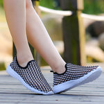 Fashion Sneakers, Breathable, Slip On for Summer