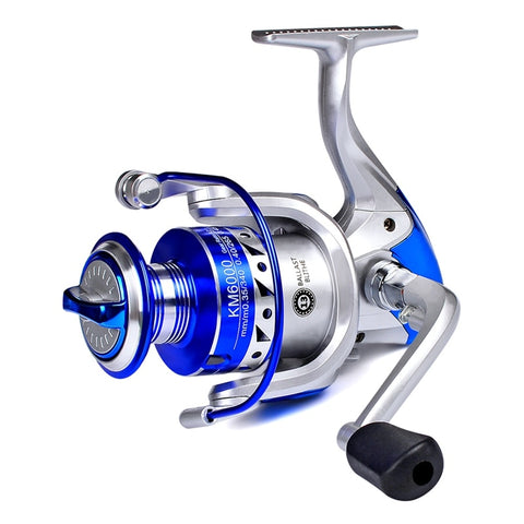 Spinning Reel 5.2: 1, 13BB, Max Drag from 13 to 35 lbs.