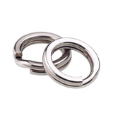 60/100 Pcs Stainless Steel Split Rings Quality Individual Sizes