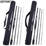 4 pc Travel Spinning or Casting Rod Carbon Fiber MH/H