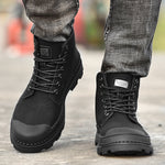 Canvas Breathable Comfortable High-Top Shoes/Boots