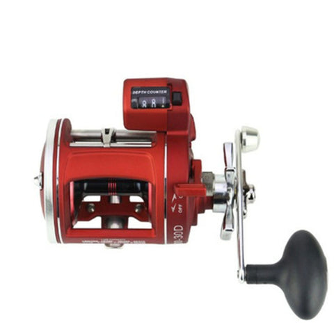 Trolling Reel Line Counter 12 BB 1000 Size 5.3:1
