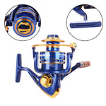 12 BB Left/Right Hand Metal Spinning Reel