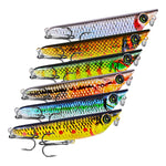 Fishing Lure Topwater 3D Eyes Walk-the-Dog