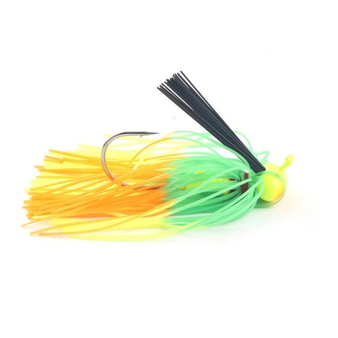 Weedless Skirted Football Jig 12g-7/16 oz.