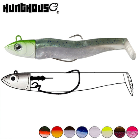 Paddle Tail Minnow Jig 25g   90mm