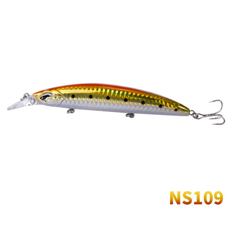 Noeby Hard Minnow Bait 110mm 19g Floating Dives 0-1m