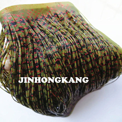 Silicone Skirt Material for Tackle Craft, DIY Spinner Baits, Buzz Baits and Skirted Jigs