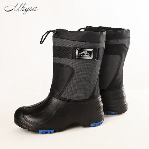 Adult Snow and Ice Boots, Non-Slip Soles with Steel Spikes