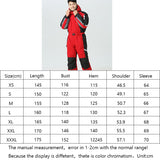 Winter Hoodie Snow Jumpsuit Overalls One-Piece Fleece