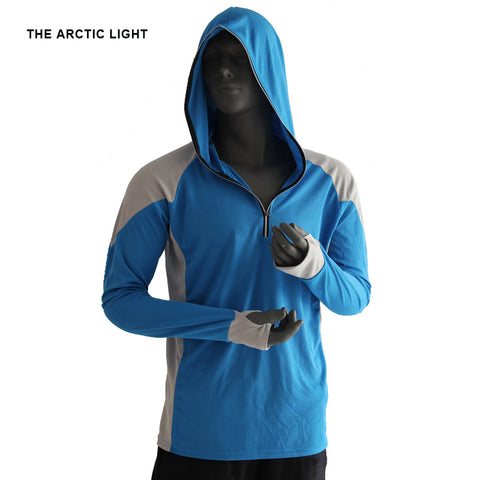 THE ARCTIC LIGHT Breathable Shirt Quick Drying Long Sleeve Hooded