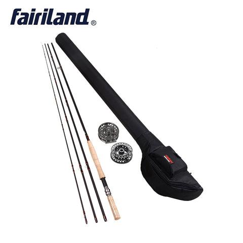 Fly Rod Reel Combo 4.2 m (14')  IM8 carbon 9/10 or 11/12 W