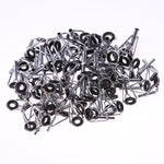 80pcs Assorted Fishing Rod Guide Tip Repair Kit