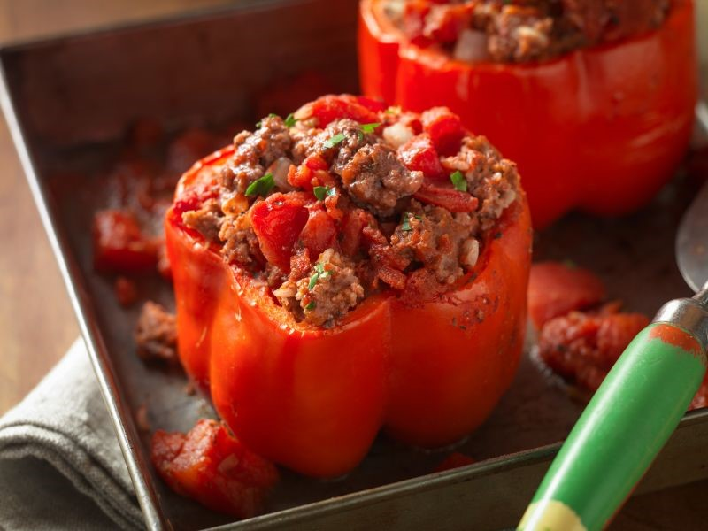 Tasty Tuesday: Classic Beef Stuffed Peppers