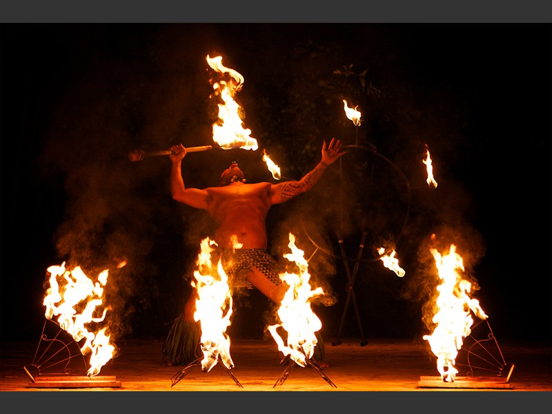 viking fire dancer