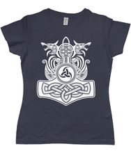 Load image into Gallery viewer, Valhalla 2 Ladies T-Shirt