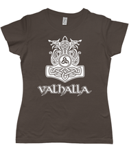 Load image into Gallery viewer, Valhalla Ladies' Fit T-Shirt