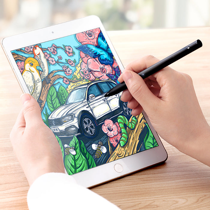 Active Stylus Pen for Apple iPad 1.5mm Point Digital Stylus Pen Rechargeable Capacitive for Touch Screen Devices