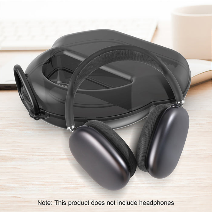 Carrying Case for Airpods Max Travel PC Plastic Hard Storage Bag for Apple Airpods Max