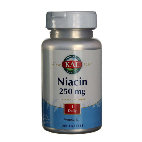 Kal Niacin vitamin B tablete 100x250 mg