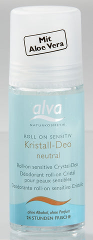 Alva kristalni dezodorans roll on SENSITIVE 50 ml