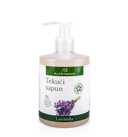 AlpStories Tekući sapun Lavanda 300 ml